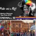 Diritti LGBT, Arcigay Siracusa e Catania insieme anche per il Gay Pride del 50.mo di Stonewall