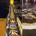 Noto, il tappeto colorato di via Nicolaci conquista il mondo. Un successo a 360 gradi