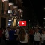 (VIDEO)Nel giorno di Ferragosto, l'omaggio dei siracusani alla Vergine Maria Assunta in cielo