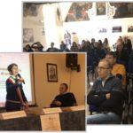 Leonardo Tiralongo e le sue inchieste tv alla tavola rotonda di Niscemi sull'inquinamento