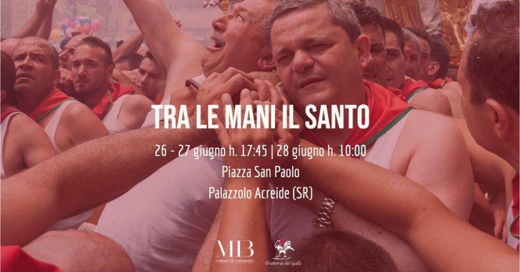 """Palazzolo Acreide, la festa di San Paolo 2020 sarà in versione digitale. """"Tra le mani il santo"""""""
