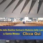 In diretta dalla Basilica Santuario Madonna delle Lacrime in Siracusa, la Santa Messa